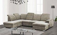 mokebo Wohnlandschaft Jeremy, Sofa in U-Form mit