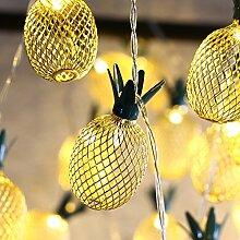 MoKo Ananas String Lights, 5m/16ft 40 LED