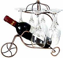 MOLECOLE Kreatives Weinregal für Einzelflasche