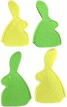 molinoRC 4X Hase grün gelb | 20 x 10 cm