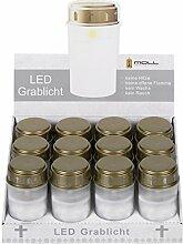 Moll LED-Grablicht mit realistisch flackerndem