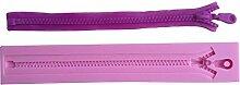 MOLLYSKY Zipper Design 3D-Silikon-Kuchen-Form Sugarcraft Polymer Clay Werkzeuge,Rosa