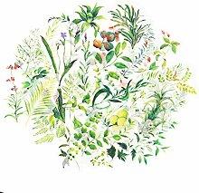 Molshine Washi-Aufkleber mit Blumenmotiven, 102