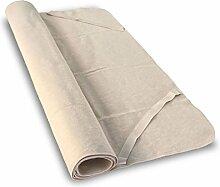 Moltonauflage aus Bio-Baumwolle 100x220 cm, Baumberger. Matratzenauflage, Matratzenschoner