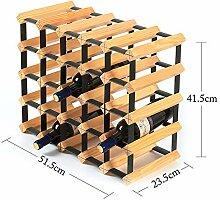 MOM Kreative Weinregal, Holz Farbe Wohnzimmer