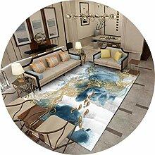 MOM Wohnzimmer Bodenmatte Dekoration, Nordic Ink
