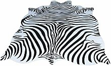 MOM Wohnzimmer Fußmatte Dekoration, Teppich Zebra