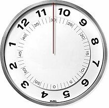MOMA 14824 Wanduhr Dial Clock, Kunststoff,