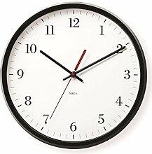 MOMA Wanduhr M&Co Bodoni Clock, Kunststoff,