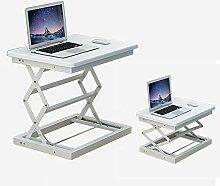 MOMD Sit-Stand Workstation, Höhenverstellbarer