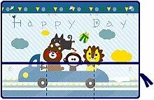 MOMEY Auto-Sonnenschutz mit Saugnapf für Kinder,