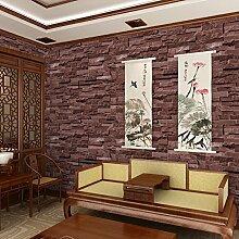 MoMo PVC-Fliese-Muster-Tapeten-Chinese-Restaurant,