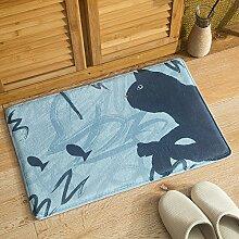 MoMo Startseite Teppich Fußmatten Flanell