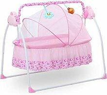 MOMOJA Babybett Schlafbett Elektrische Schaukel