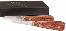 MOMONI Premium Austernmesser-Set (2 Messer) -
