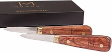 MOMONI Premium Austernmesser-Set (2 Messer) –