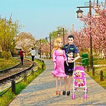 Momorain 5 Menschen Puppen Anzug Schwangere Puppe