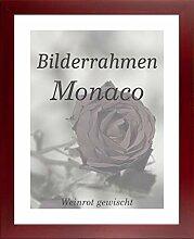 Monaco MDF Bilderrahmen ohne Rundungen 59 x 84 cm