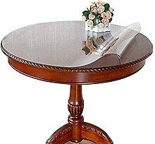 Monba Runde Tischfolie Tischdecke,Kunststoff