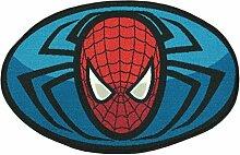Monbeautapis Teppich Marvel Spiderman (Oval 90 x