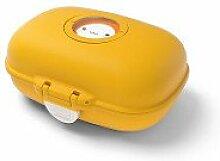 Monbento MB Gram - Snackbox - mustard/gelb - 14,8 x 7 x 11,4