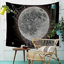 Mond Wandteppich Hippie Wandbehang Tapestry