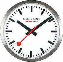 Mondaine Clock - Wanduhr - Schweizer Bahnhofsuhr -
