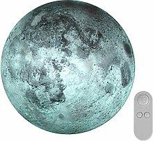Mondform Lampe LED Mond Licht geheimnisvolle Mond