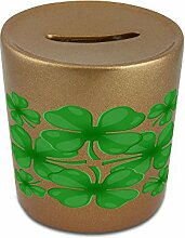 Money box with Clover leaves