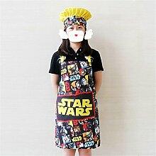 MONEYY Wasserdichte Schürze_ärmelloses Kleid cute Pet fashion Heimtextilien schürze Cake Shop Kleidung 79 cm * 62 cm