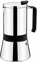 Monix Aroma–Espressokocher, Edelstahl,