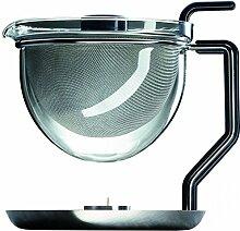 mono - Classic Teekanne mit integriertem Stövchen