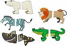 Mono-Quick Wilde Tierwelt, 10er Set,