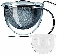 mono Teekanne 1,5 l und Ersatzglas