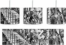 Monocrome, Coloured Streetart, Graffiti inkl.