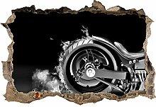 Monocrome, Dark Brennender Harley Reifen