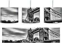 Monocrome, London inkl. Lampenfassung E27, Lampe