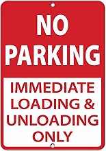 Monsety Blechschild mit Spruch No Parking