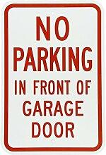 Monsety Gartenzaun Garage Dekoratives Schild Do