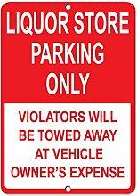 Monsety Gartenzaun Garage Dekoratives Schild für