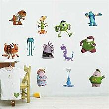 Monster Company Wandaufkleber Tapete Kinderzimmer