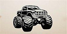 Monster Truck Auto Fahrzeug Aufkleber Aufkleber