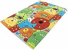 Monsters HEVO® Handtuft Teppich   Kinderteppich  
