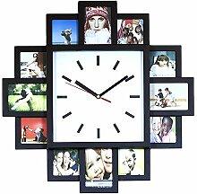 Monsterzeug Bilderrahmen Uhr, Design Wanduhr mit