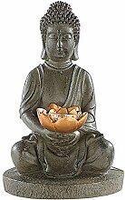 Monsterzeug Buddha Statue mit elekrischem Licht,