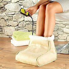Monsterzeug Elektrischer Fußwärmer mit Massage,