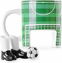Monsterzeug Fußball Tasse Set, Keramikbecher
