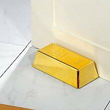 Monsterzeug Goldbarren als Türstopper, Lustiger
