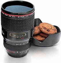 Monsterzeug Kaffeebecher Kameraobjektiv,