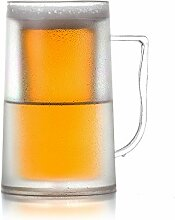 MonsterZeug Kühlender Bier Krug, Bierkrug Hält